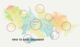 how to make tamarindo