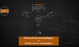 Pensamiento antropologico