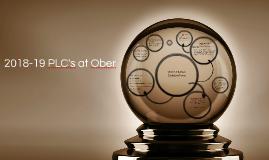 2018-19 PLC's at Ober