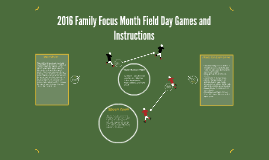 2016 Family Focus Month Field Day Games and Instruction