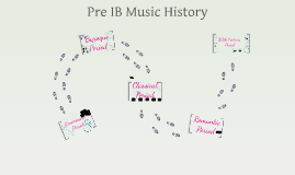 Pre IB Music History