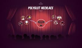 Polyglot necklace