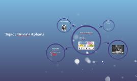 Broca's Aphyxia