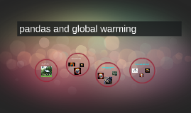 pandas and global warming