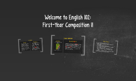 Welcome to English 102 (Spring B 2018)