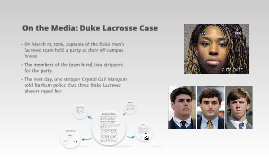 On the Media: Duke Lacrosse Case