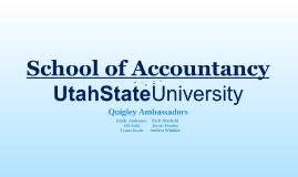 USU Accounting 2012 - High School