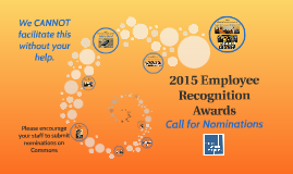 2015 Employee Recognition Awards