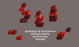 PROPUESTA DE POSTJORNADA