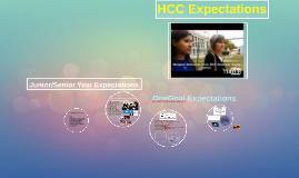 Copy of Junior/Senior Year Expectations