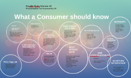 What a Consumer should know