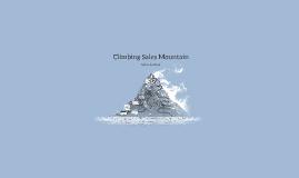 Climbing Sales Mountain