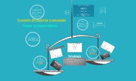 Copy of Excedente del productor y del consumidor usando una integral definida