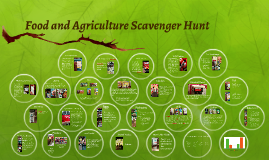 Food and Agriculture Scavenger Hunt