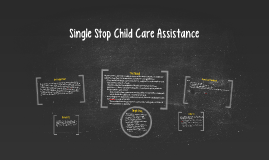 Single Stop Child Care Assistance