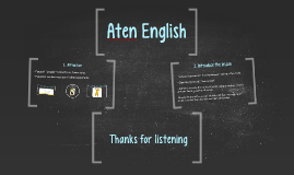 Copy of Aten English School