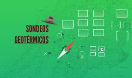 SONDEOS GEOTÉRMICOS
