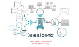 Major Pathways Project: Business Economics