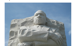 The Martin Luther King Jr. Memorial statue