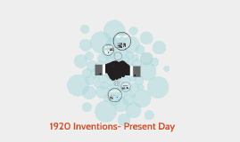 1920 Inventions- Present Day
