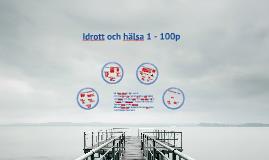 Malmö Latin idrott och hälsa 1