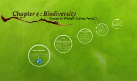 Chapter 4 : Biodiversity