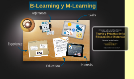 B-Learning y M-Learning