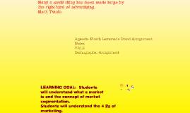 Copy of The Marketing Concept and Marketing Segmentation