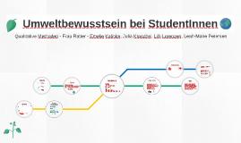 Umweltbewusstsein bei Studenten