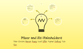 Copy of Stakeholders and Pfizer
