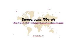 TCC - Democracias Iliberais: Uma Perspectiva das R.Is Contemporâneas