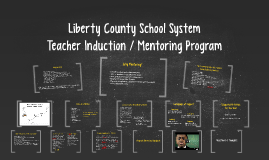 LCSS Teacher Induction - Mentoring Program Overview