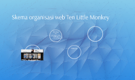 Skema organisasi web Ten Little Monkey