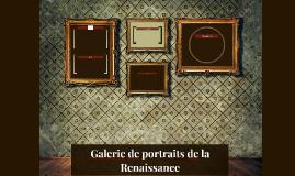 Galerie de portraits de la Renaissance
