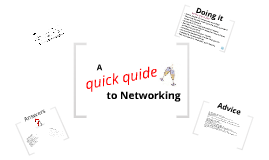 A quick guide to Networking