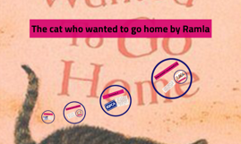 The cat who wanted to go home by Ramla