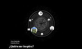 ¿Quién me inspira?