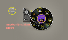 tema software libre vs. Software propietario