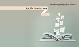 Citación formato APA