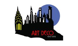 Copy of Art Deco 1910-1939