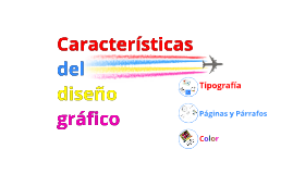 Copy of Características del diseño gráfico