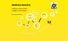 Medicina Dentária - II Mostra Universitária CLF
