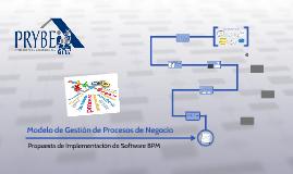Modelo de Gestión de Procesos de Negocio