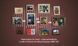 Hottentotten im Frack - expressionistische Grafik & Malerie