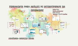 Ferramenta para Análise de Interatividade em Cibermeios
