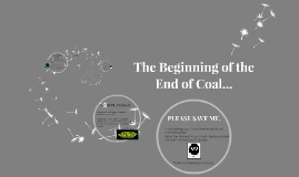 The Beginning of the End of Coal...