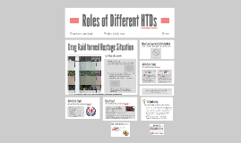 Roles of Different HTDs