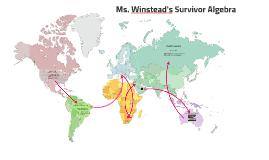 Copy of Copy of Ms. Winstead's Survivor Algebra