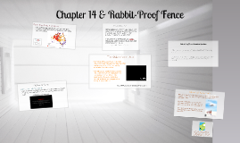 Chapter 14 & Rabbit-Proof Fence - Updated