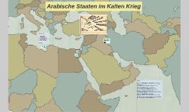 Arabische Staaten im Kalten Krieg